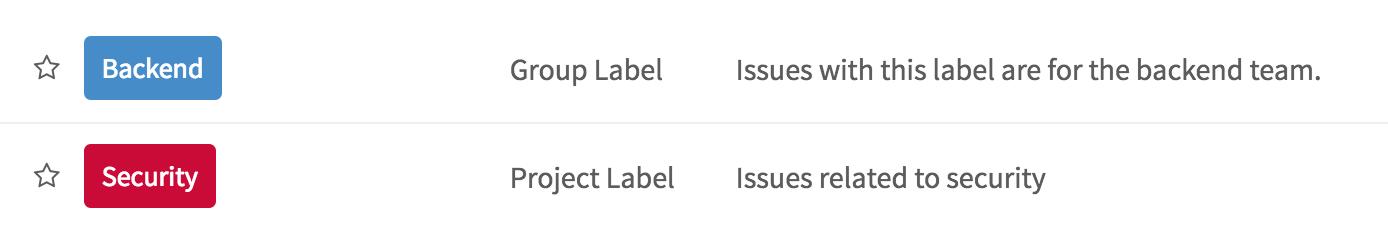 Group level labels in GitLab 8.13