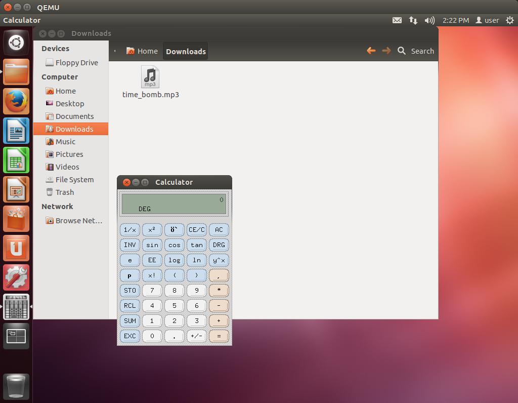 Уязвимость старой Ubuntu через аудиофайл, проигрываемый эмуляцией процессора 1975 года - 2