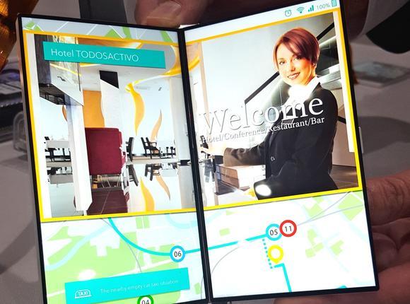 Japan Display представила раскладной дисплей для смартфонов