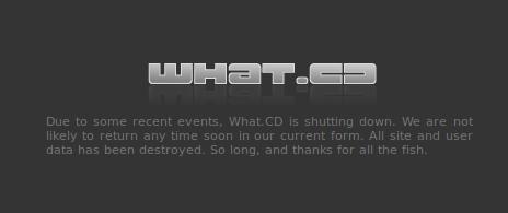 What.cd закрыто - 1