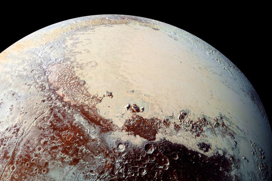 Под «сердцем» Плутона может скрываться океан жидкой воды - 1