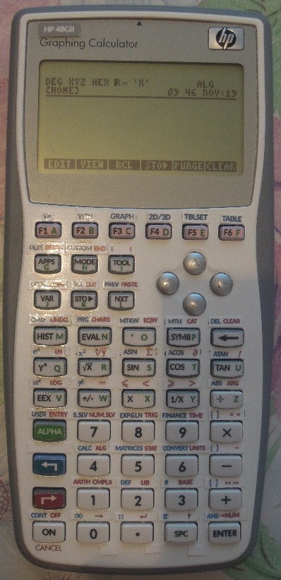 Переделываем программируемый калькулятор HP 39GS в 48GII - 20