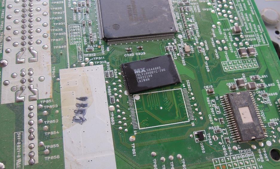 Переделываем программируемый калькулятор HP 39GS в 48GII - 5