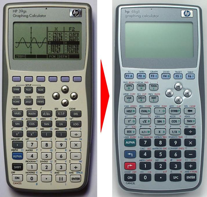 Переделываем программируемый калькулятор HP 39GS в 48GII - 1