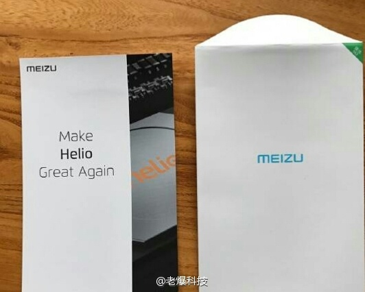 Новый смартфон Meizu с SoC MediaTek Helio представят 30 ноября