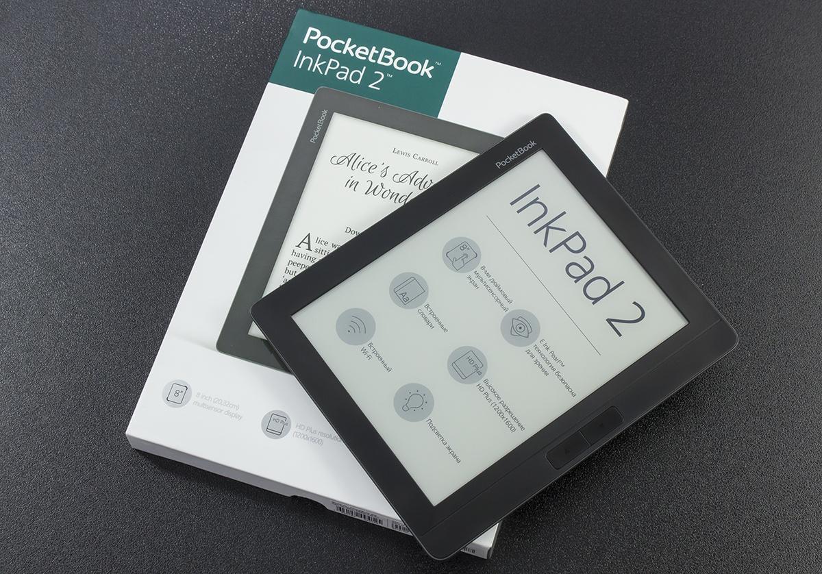 Обзор PocketBook 840-2 Ink Pad 2: новый крупноформатный E Ink-ридер с экраном сверхвысокого разрешения - 1