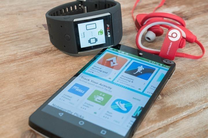 Polar M600 — обзор возможностей спортивных часов на Android Wear - 33