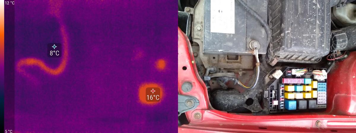 Увидеть невидимое, подключить не подключаемое или выжимаем все соки из Seek Thermal - 17