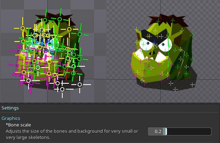 Анимация в Spine, советы и рекомендации, псевдо 3D эффект - 11