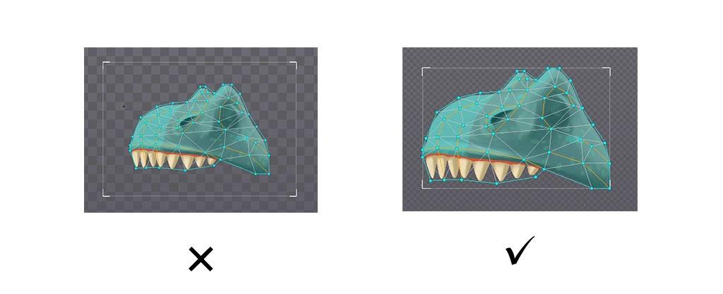 Анимация в Spine, советы и рекомендации, псевдо 3D эффект - 30