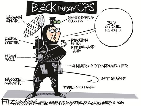 Чёрной-чёрной пятницей… - 1