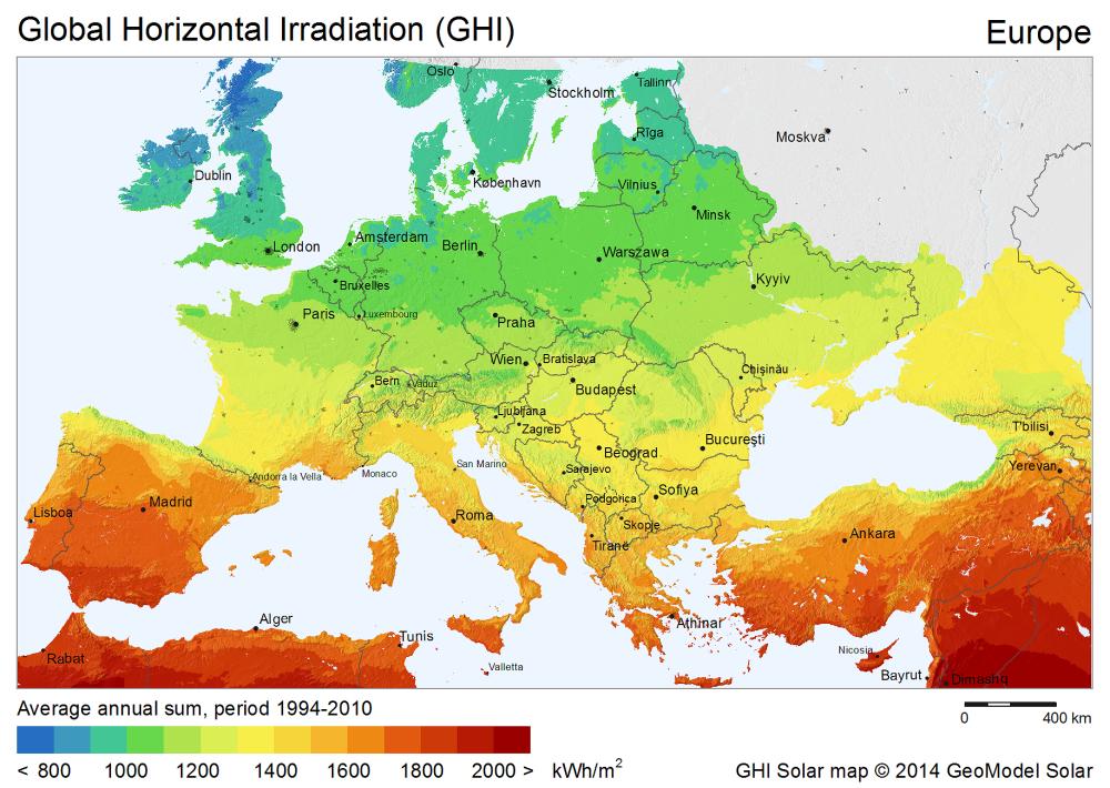 Китайцы собираются построить мощную солнечную электростанцию в зоне отчуждения ЧАЭС - 2