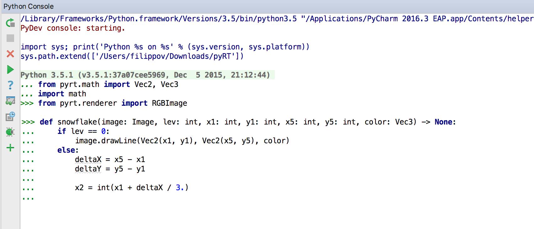 Релиз PyCharm 2016.3: Полная поддержка Python 3.6, улучшения в Python консоли, обозревателе переменных, и многое другое - 4