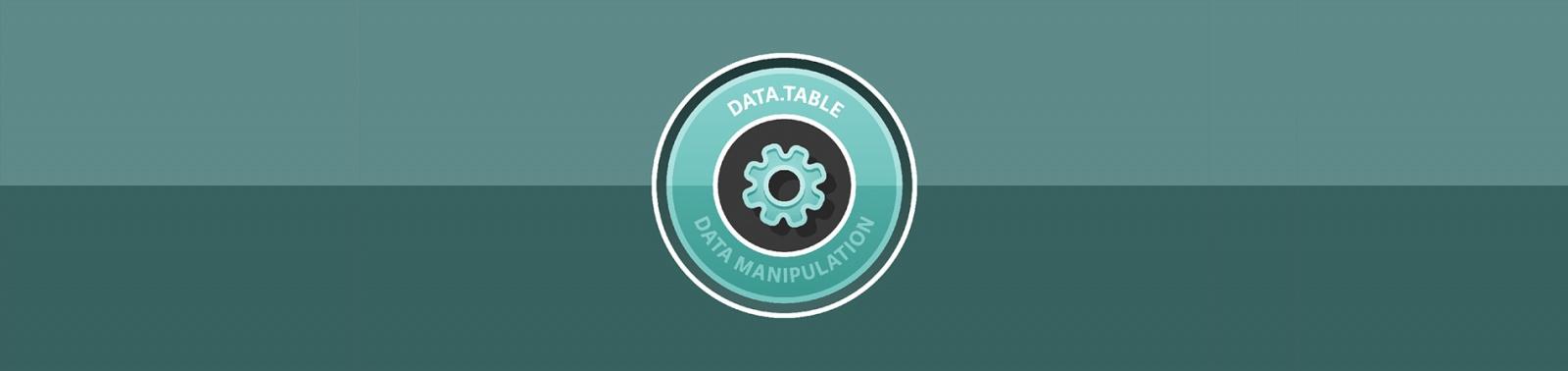 data.table: выжимаем максимум скорости при работе с данными в языке R - 1