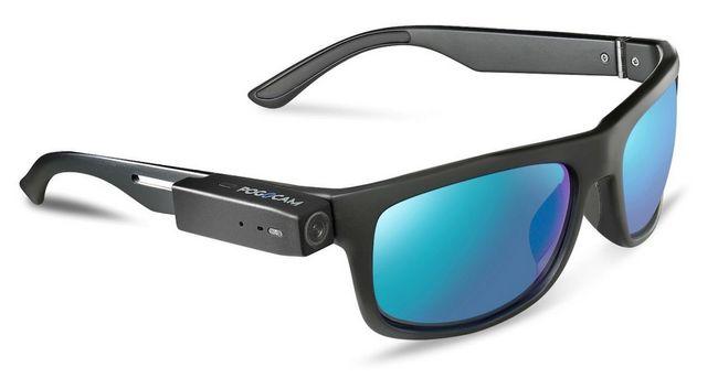 Крошечную камеру PogoCam можно прикрепить почти к любым очкам