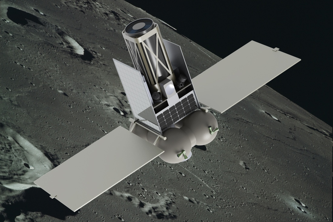 Год проекту лунного микроспутника - 1