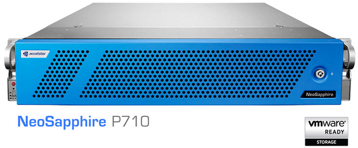 Конфигурация массива AccelStor NeoSapphire P710 включает 24 SSD