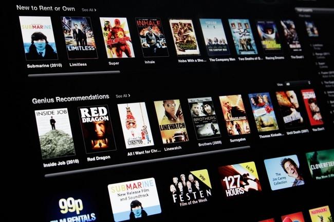 Apple обсуждает с Голливудом возможность раннего проката киноновинок в iTunes