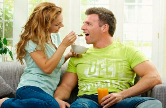 Женщины любят мужчин, которые много едят