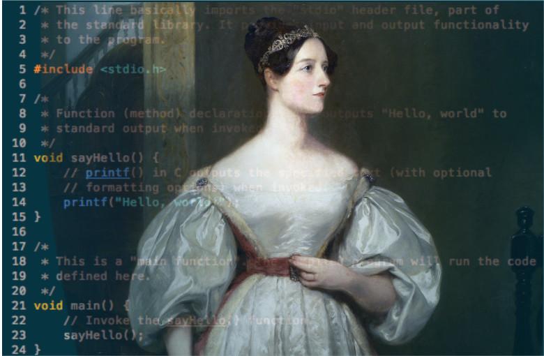 Накануне дня рождения первой женщины-программиста: моя история - 1