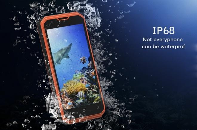 Смартфон No.1 M3 получил аккумулятор емкостью 4500 мА•ч и класс защиты IP68