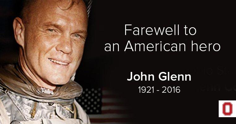 Умер Джон Гленн, первый американец, совершивший орбитальный полет - 4
