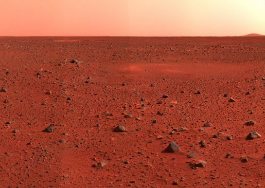 Стала известна температура поверхности Марса