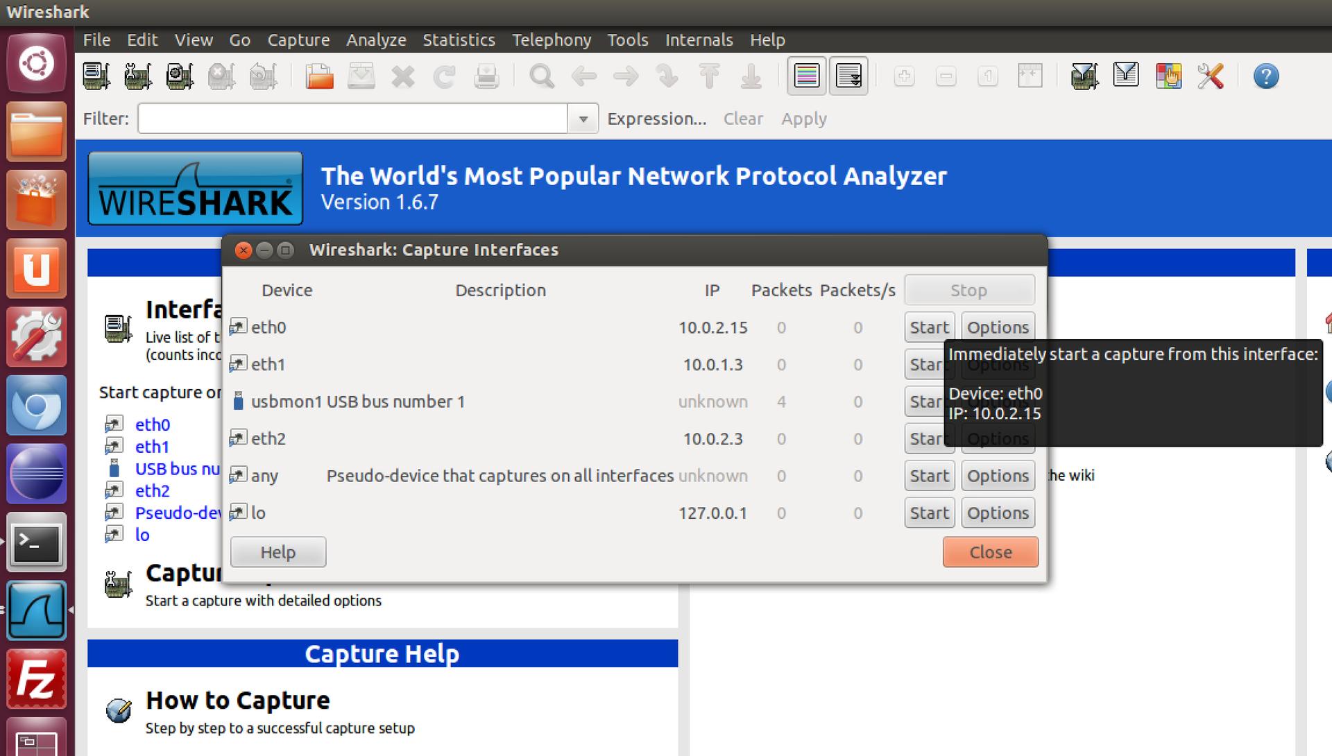 Создание и тестирование Firewall в Linux, Часть 2.1. Введение во вторую часть. Смотрим на сеть и протоколы. Wireshark - 5