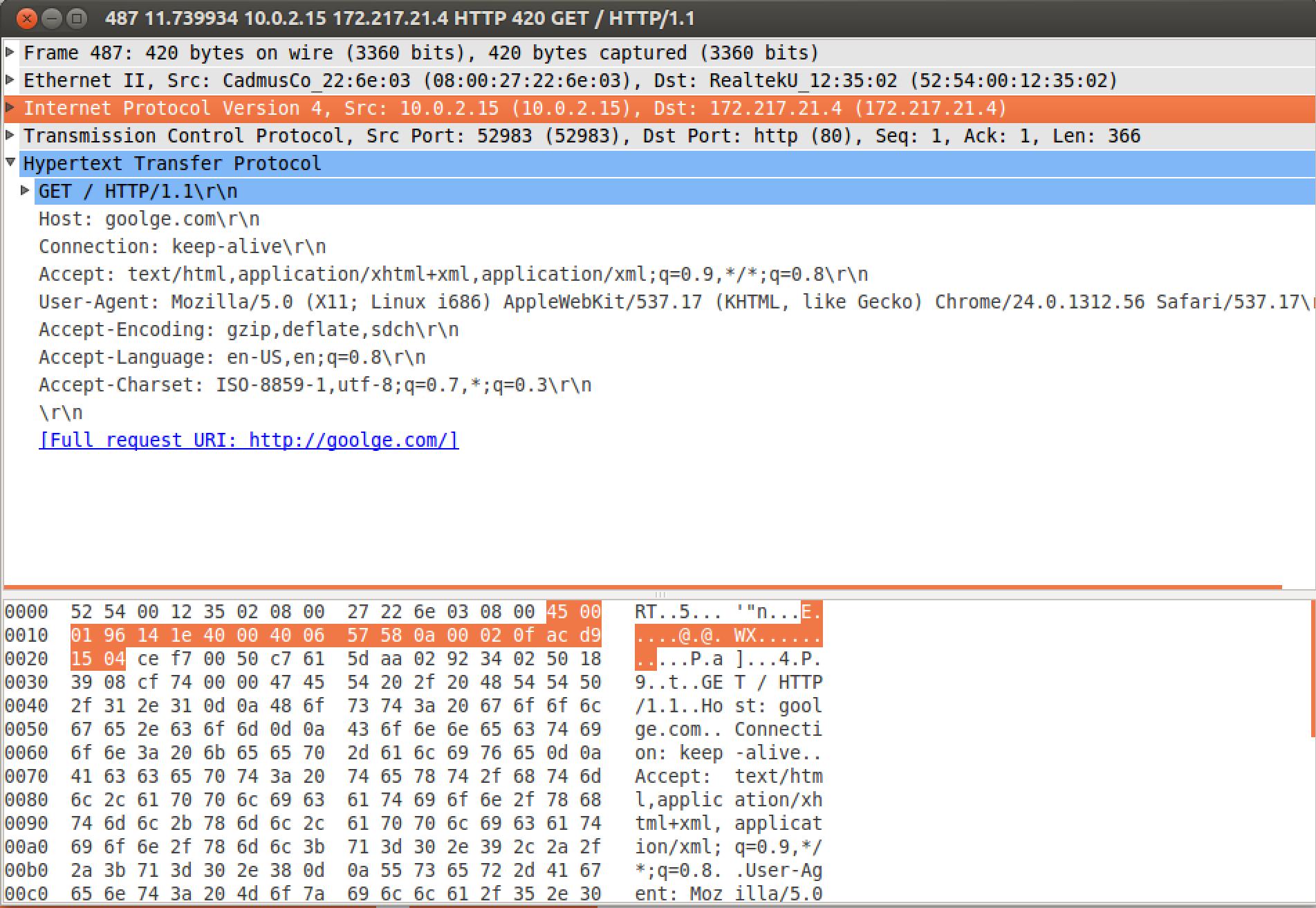 Создание и тестирование Firewall в Linux, Часть 2.1. Введение во вторую часть. Смотрим на сеть и протоколы. Wireshark - 8