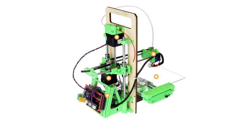 Импортозамещение снеговиков, или готовимся к Новому Году с 3D-принтером «3D-Старт» от Даджет - 2