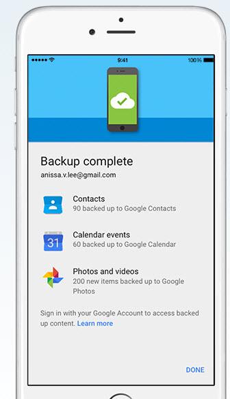 Google Drive упрощает перенос данных с iPhone на смартфон, работающий под управлением ОС Android
