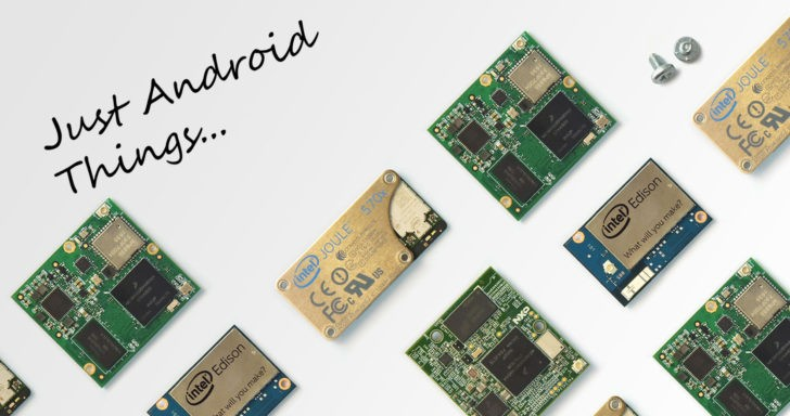 Google представила ОС Android Things