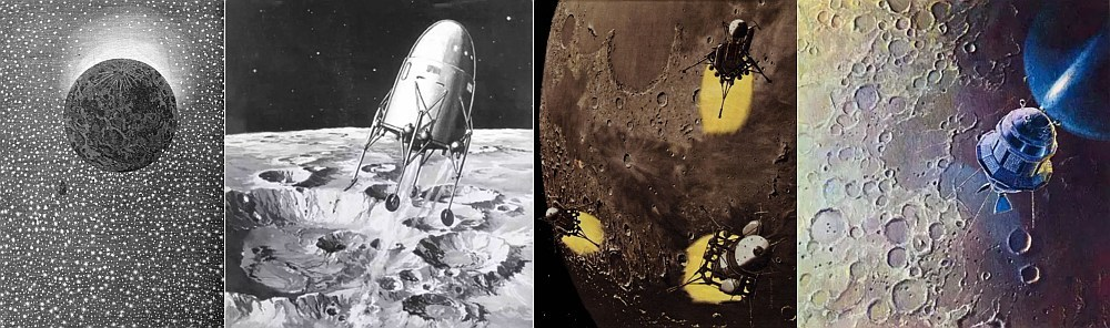 С Земли на Луну. История и математика. Часть 1 - 1