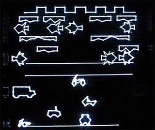 Разработка игры Frogger для компьютера Vectrex - 1