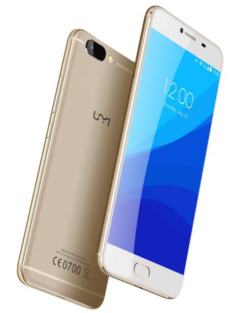 Смартфон UMi Z получил SoC Helio X27, 4 ГБ и аккумулятор емкостью 3780 мА•ч