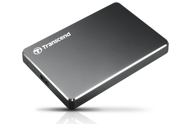 Transcend выпустила внешние накопители StoreJet 25C3 емкостью 1 и 2 ТБ