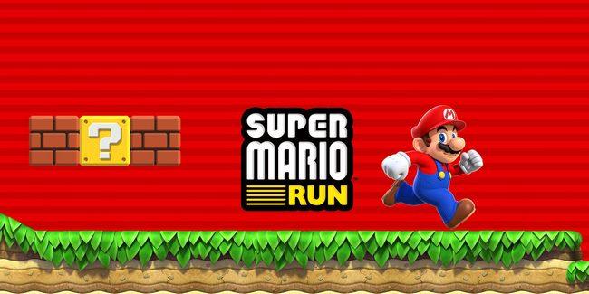 Через несколько часов после выхода Super Mario Run стало самым популярным приложением в App Store