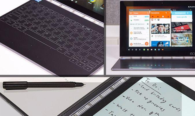 Точная дата выпуска мобильного компьютера Yoga Book с Chrome OS пока неизвестна