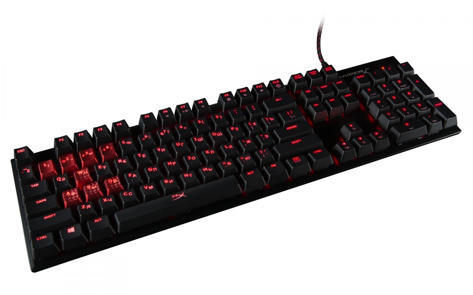 HyperX Alloy FPS — Красный, синий, коричневый — выбирай себе любой - 1