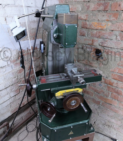 Электронный микроскоп в гараже. Токарная мастерская - 7