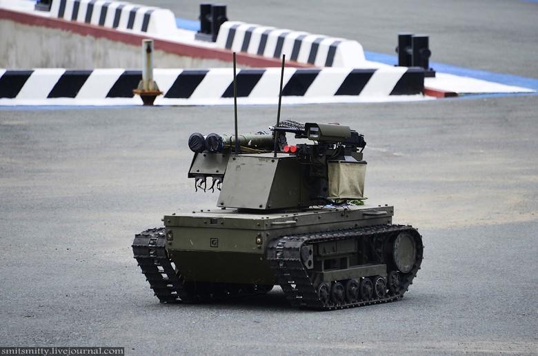 Российские боевые наземные роботы - 28