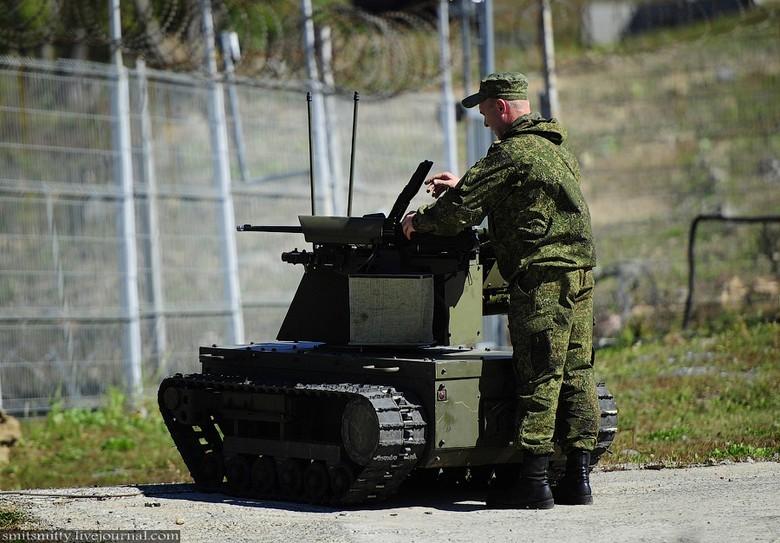 Российские боевые наземные роботы - 29