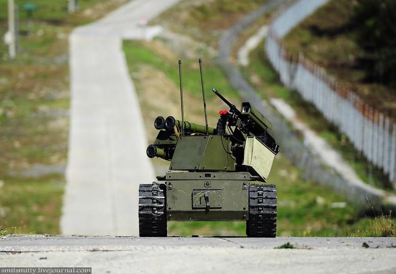 Российские боевые наземные роботы - 30