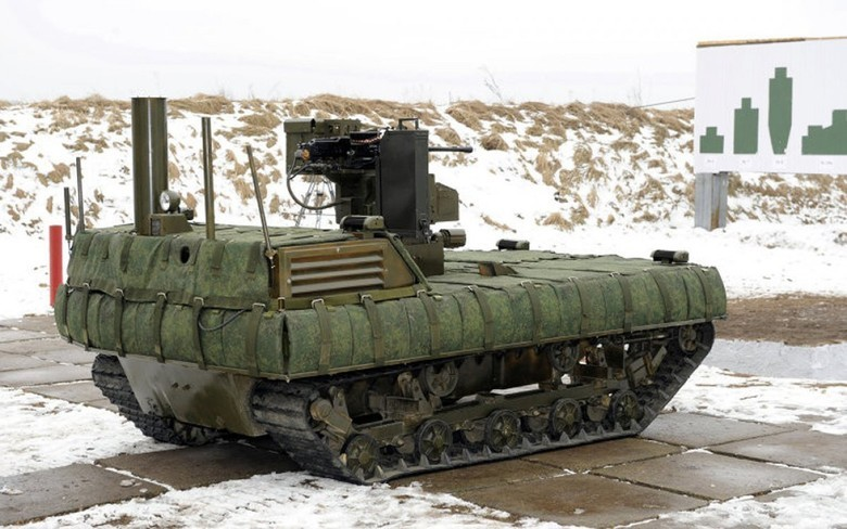 Российские боевые наземные роботы - 34