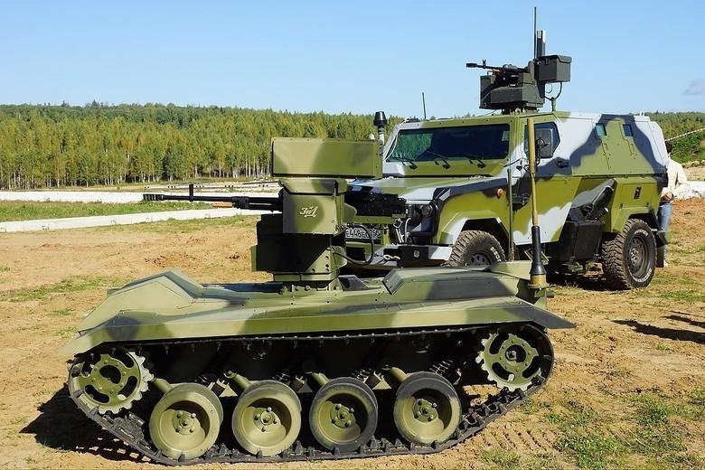 Российские боевые наземные роботы - 35