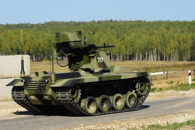 Российские боевые наземные роботы - 36
