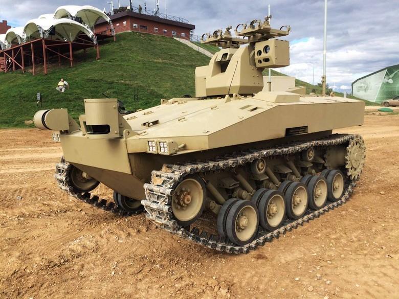 Российские боевые наземные роботы - 40