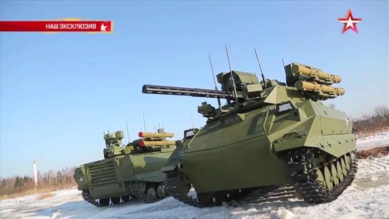 Российские боевые наземные роботы - 43