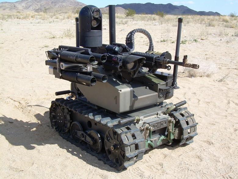 Российские боевые наземные роботы - 7