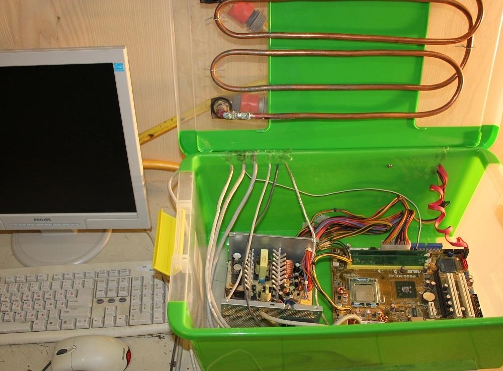 Контейнеры двухфазной иммерсионной системы охлаждения - 2